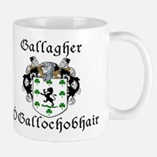 Gallagher In Irish & English Mug