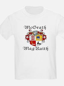 McGrath In Irish & English Kids T-Shirt