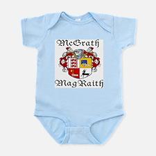 McGrath In Irish & English Infant Bodysuit