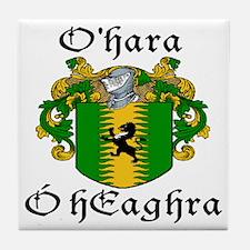 O'Hara In Irish & English Tile Coaster