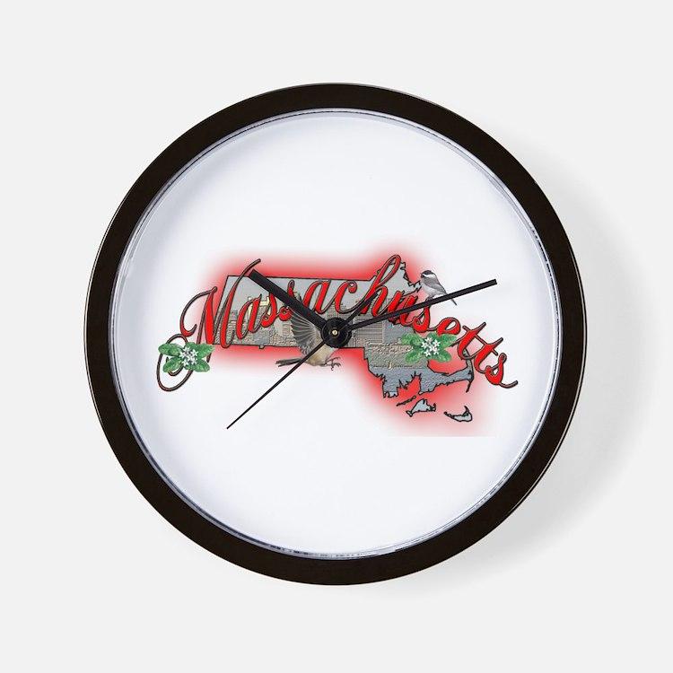 Massachusetts Wall Clock