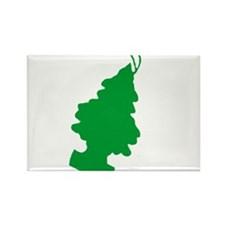 Pine Scented Rectangle Magnet (100 pack)