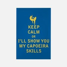 Keep Calm or i'll Show You My Capoeira Skills Magn