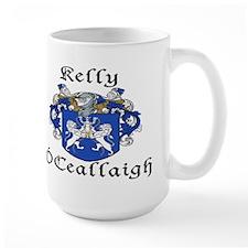 Kelly In Irish & English Mug