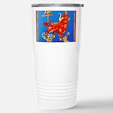 Year Of The Ox Travel Mug