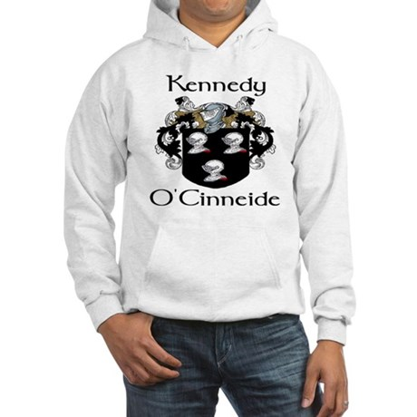 Kennedy in Irish & English Hooded Sweatshirt