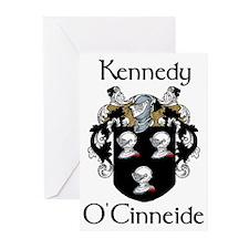 Kennedy in Irish & English Cards (Pk of 10)