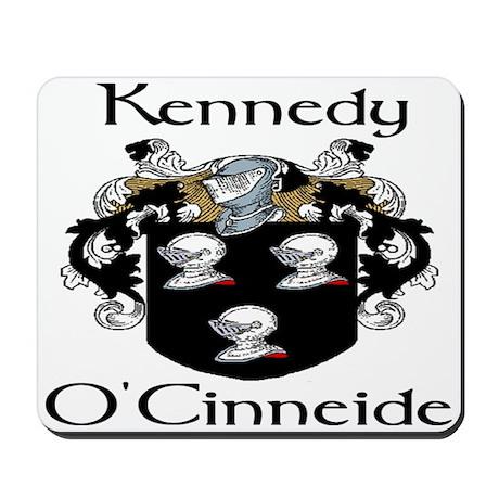 Kennedy in Irish & English Mousepad