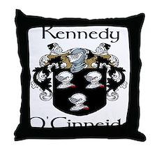 Kennedy in Irish & English Throw Pillow