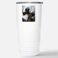 Fitness Gym Dumbells Travel Mug