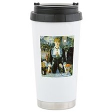 Bar at the Folies-Berge Travel Mug