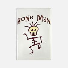 Bone Man Rectangle Magnet