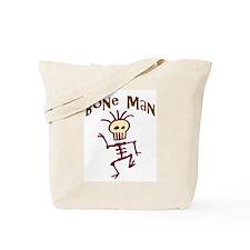 Bone Man Tote Bag