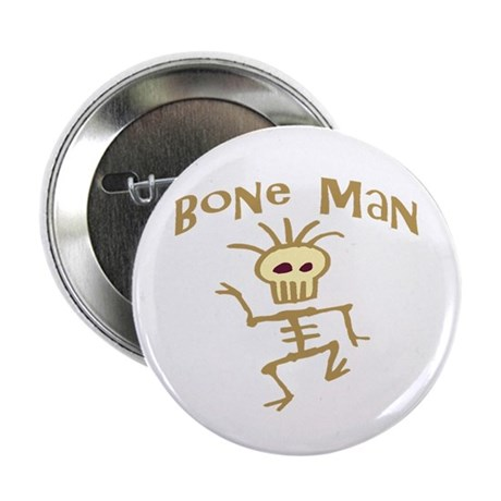 Bone Man Button