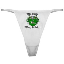 Maguire In Irish & English Classic Thong