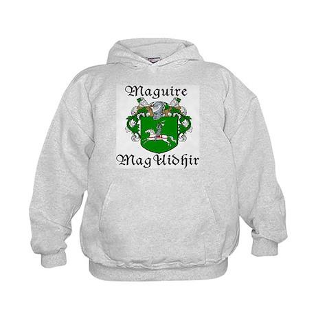 Maguire In Irish & English Kids Hoodie