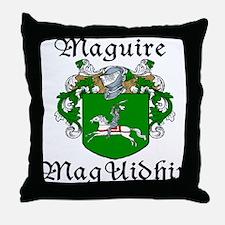 Maguire In Irish & English Throw Pillow