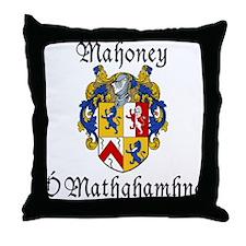 Mahoney In Irish & English Throw Pillow