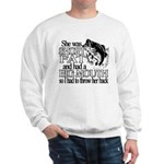 Short, Fat and a Big Mouth Sweatshirt