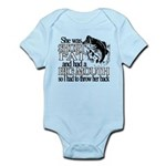 Short, Fat and a Big Mouth Infant Bodysuit
