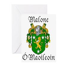 Malone In Irish & English Cards (Pk of 10)