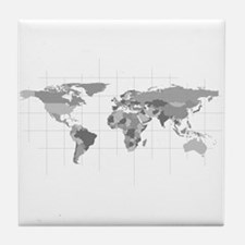 Wear the World Tile Coaster