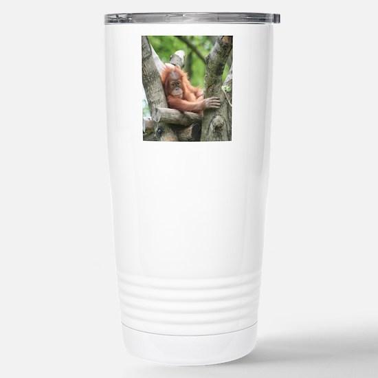 OrangUtan015 Stainless Steel Travel Mug
