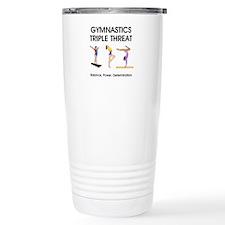TOP Gymnastics Slogan Travel Mug