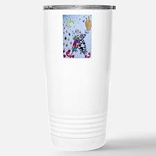 Colorful Jester Travel Mug