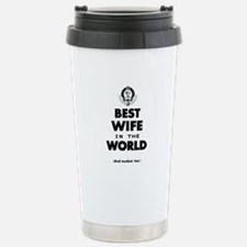 The Best in the World Best Wife Stainless Steel Tr