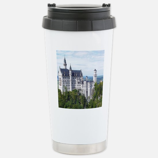 Neuschwanstein001 Stainless Steel Travel Mug