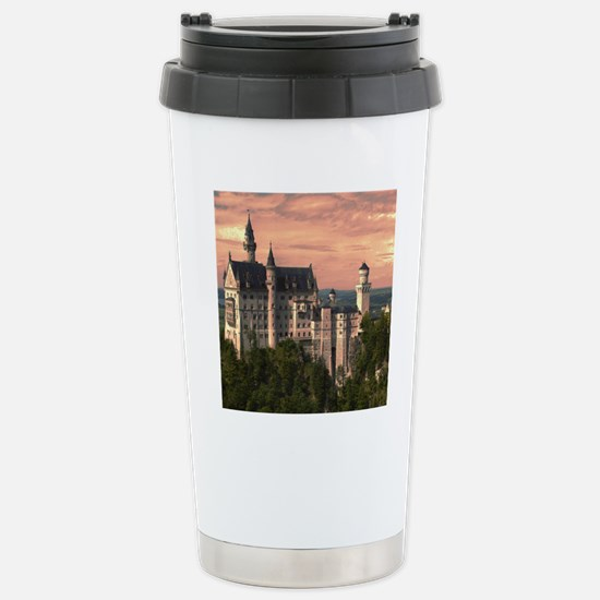 Neuschwanstein003 Stainless Steel Travel Mug