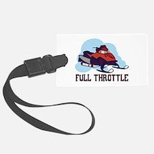 Full Throttle Luggage Tag