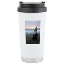 Sunset Gnome Travel Mug