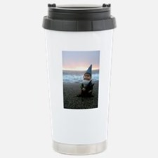 Sunset Gnome Travel Mug