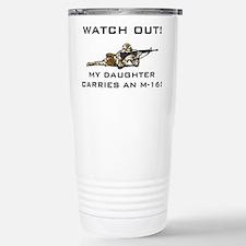 Cute Military dad Travel Mug