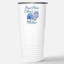 Funny Mom of police officer Travel Mug