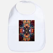 Colorful Vintage Mandala Bib