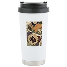 Vintage Floral Design i Travel Mug