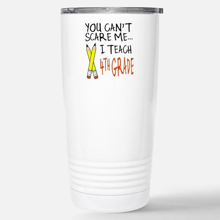 Cute 4th grade teacher Travel Mug