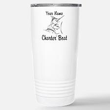 Custom Charter Boat Stainless Steel Travel Mug