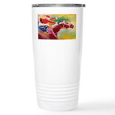 Derby Santa Travel Mug