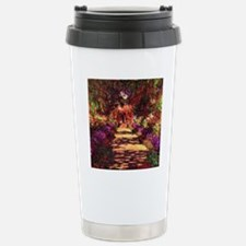 Garden Path by Claude M Stainless Steel Travel Mug