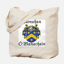 Monahan In Irish & English Tote Bag
