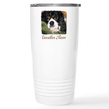 Cavalier Mom Travel Coffee Mug