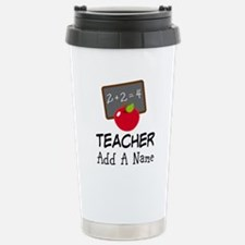 Personalized Teacher Gift Stainless Steel Travel M