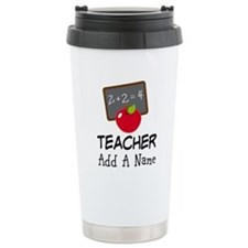 Personalized Teacher Gift Travel Mug