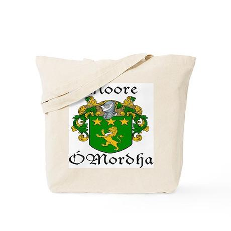 Moore In Irish & English Tote Bag