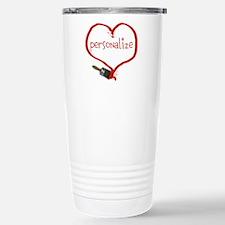 paint heart Travel Mug