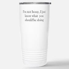 Unique Smart sayings Travel Mug